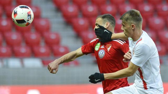 Labdarúgó Magyar Kupa - Egygólos előnyt szerzett a Debrecen
