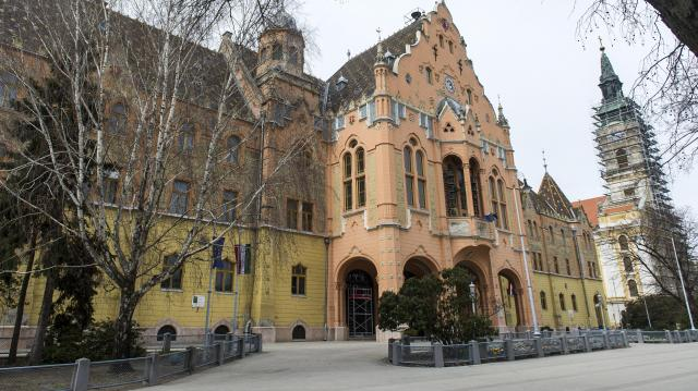Megújul a városháza épülete