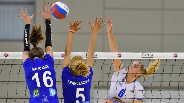 Női röplabda Extraliga - Jászberényben nyert a Nyíregyháza