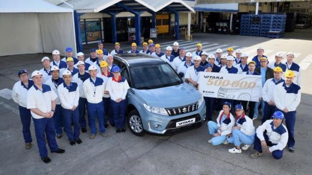 Újabb mérföldkőt ért el az esztergomi Suzuki