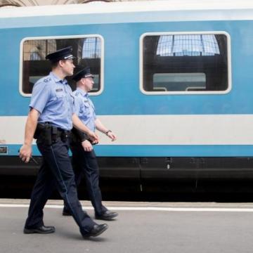 A vasúti biztonság érdekében tartott 24 órás akciót a rendőrség