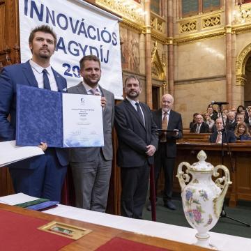 Átadták a 2018. év Innováció Nagydíj elismeréseket