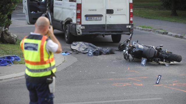 Balesetben meghalt egy motoros Heves megyében