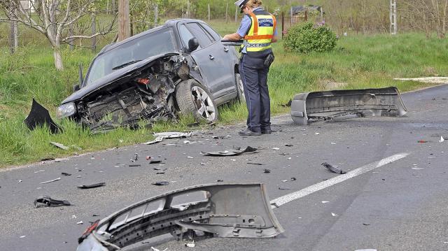 Halálos baleset történt a 38-as főúton Tarcalnál
