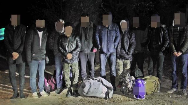 Illegális migránsok Hercegszántónál