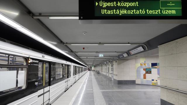 Metrófelújítás - Változik a közlekedési rend a fővárosban