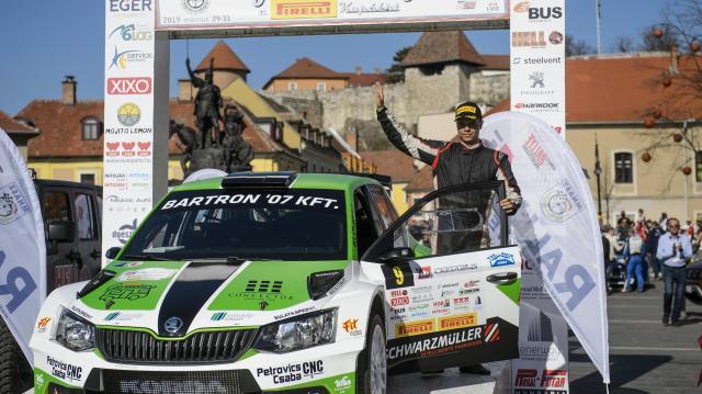 Rali ob - Vinczéék nyerték az idénynyitót Egerben