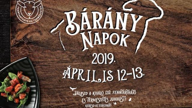 Április 12-13-án újra Bárány Napok