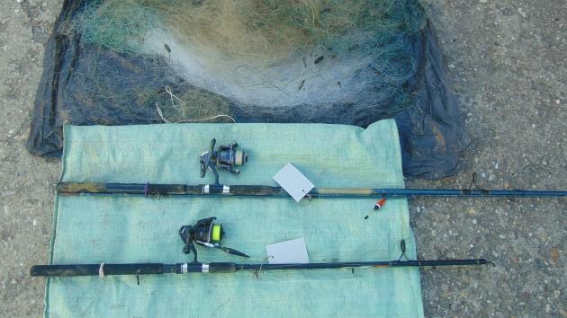 Horogra akadtak az orvhalászok