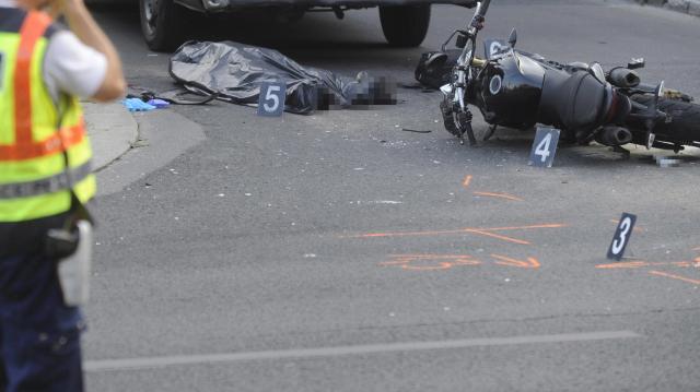 Meghalt egy motoros az M25-ös főúton Eger közelében
