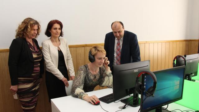 Nyelvi laborral bővült a Széchenyi szakgimnázium