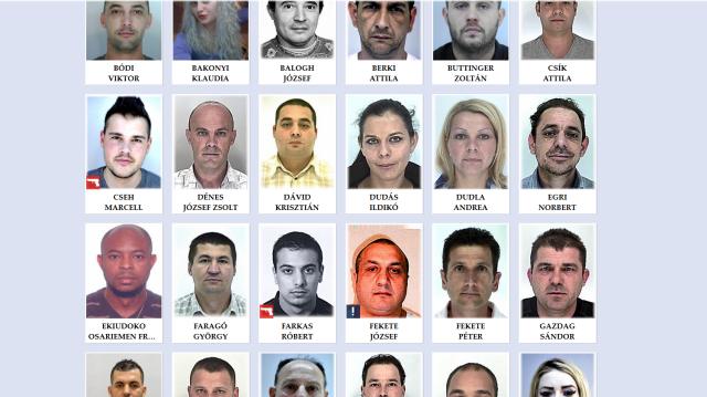Rendőrség: negyvenegy körözöttet fogtak el egyetlen nap alatt Budapesten