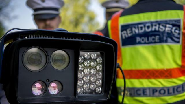 Sebességmérő akciót tart a rendőrség