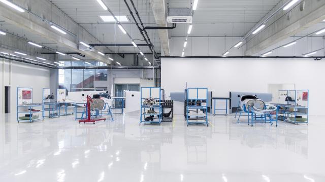 Elkészül a nyár második felére a pécs-pogányi kompozitelem-gyártó üzem