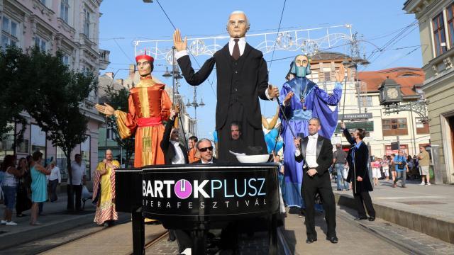 Eötvös Péter műve a miskolci Bartók Plusz Operafesztiválon