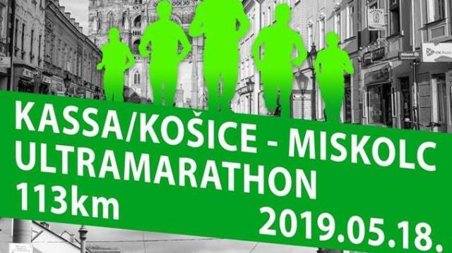 Ismét lesz Kassa-Miskolc ultramaraton