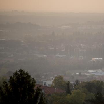 Többfelé rossz a levegő minősége