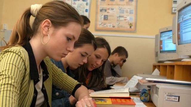 A végzősök többségét felvették középfokú iskolába