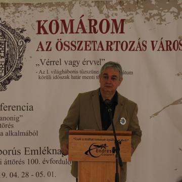Az áttörés áldozataira emlékeznek Komáromban