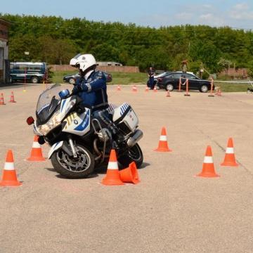Közlekedésrendészeti versenyt tartottak