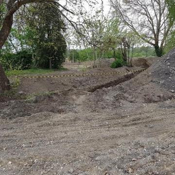 Nem sokáig dolgoznak már a régészek a kaposvári várnál