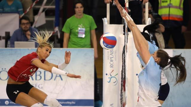 Női röplabda Extraliga - Egy győzelemre a bronzéremtől a Békéscsaba