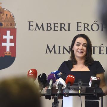 Novák: Magyarország a saját erejéből szeretne gyarapodni
