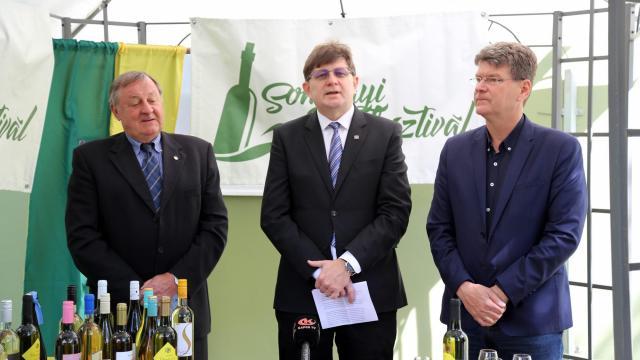 Százféle bort lehet kóstolni a Somogyi Borfesztiválon