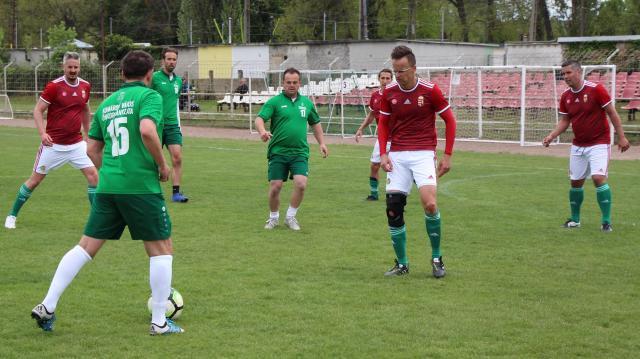 Szijjártó Péter tíz gólt lőtt Komáromban