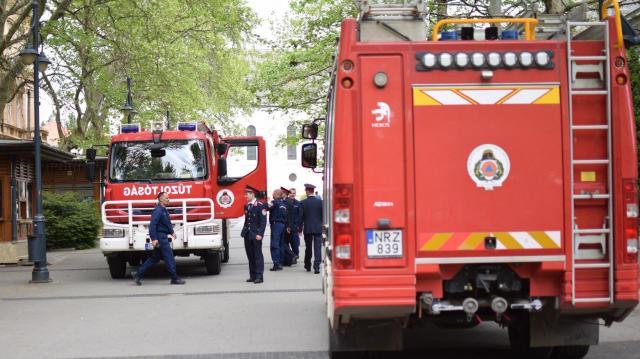 Védőszentjükre emlékeztek a tűzoltók