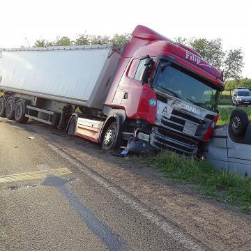 Baleset miatt lezárták az M35-ös autópályát Debrecen felé