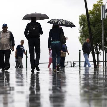 Ezen a héten ismét sok eső várható