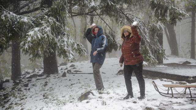 Kékestető saját országos hidegrekordját döntötte meg