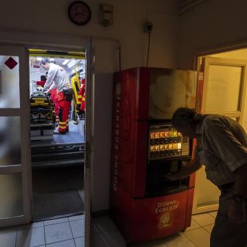 Megújul a váci mentőállomás