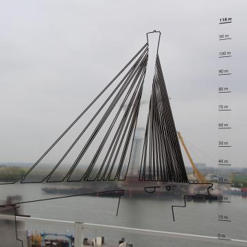 Rendkívüli nyílt nap lesz az új Duna-hídnál