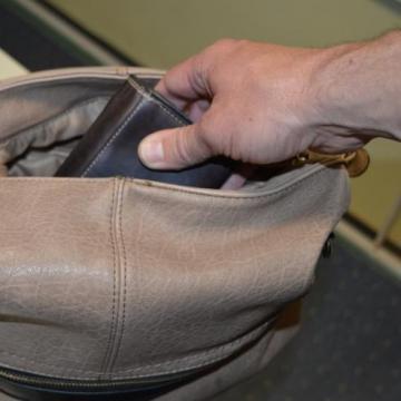 Táskát lopott