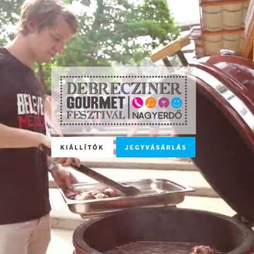 Több mint huszonöt kiállító az idei Debrecziner Gourmet Fesztiválon