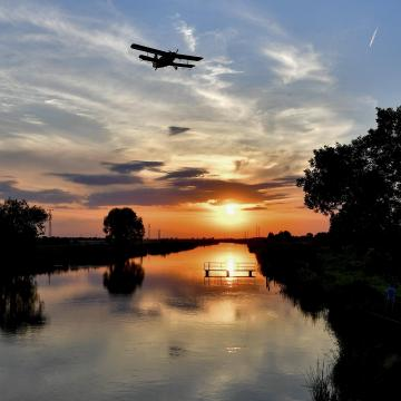 A Tisza-tónál is irtják a szúnyogokat
