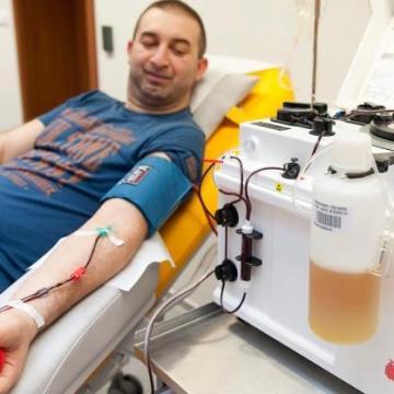 Nagy szükség van Magyarországon a vérplazmadonorokra