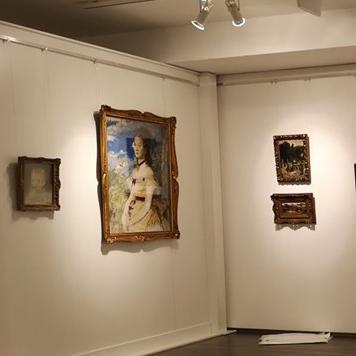 Szinyei kiállítás nyílt a Vaszary Képtárban