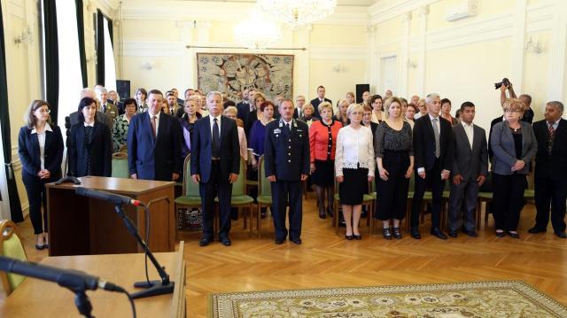 Új ülnököket választottak a Kaposvári törvényszéken