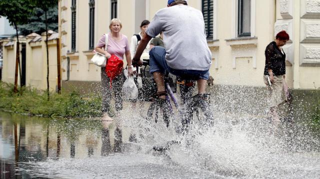 Békéscsabán több eső esett le egy nap alatt, mint a havi csapadékmennyiség