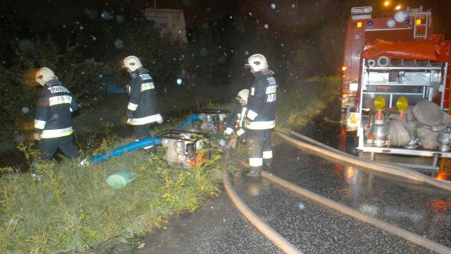 Dédestapolcsányba is riasztani kellett a tűzoltókat a vihar miatt