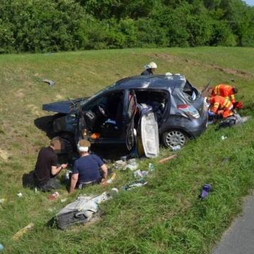 Halálos baleset  történt Kecskemét közelében