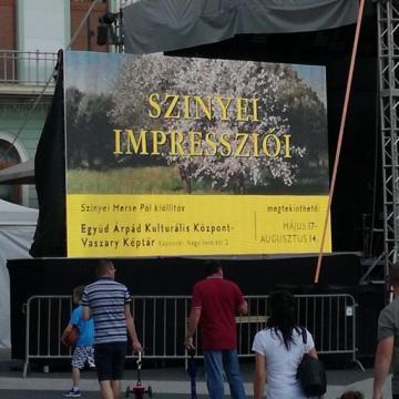 Megérkezett az ezredik látogató a Szinyei Merse kiállításra