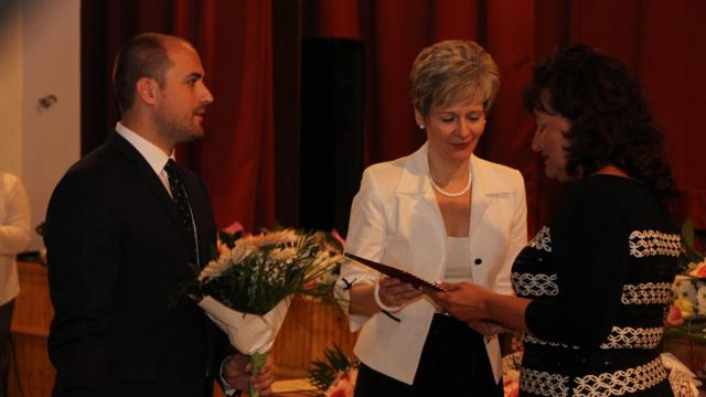 Megyénk pedagógusait köszöntötték Nagyigmándon