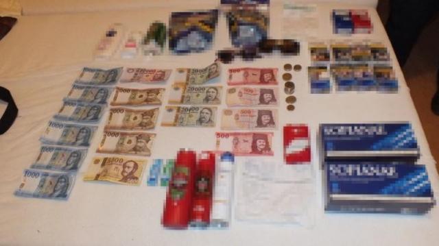 Pénzt loptak a motelből