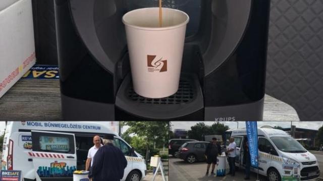 Police Coffee sorozat indult Bács-Kiskun megyében