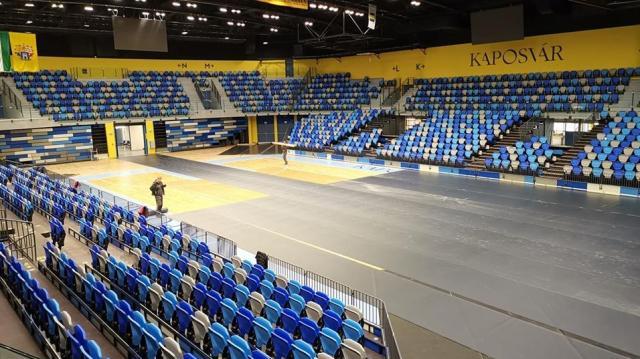 Szombaton lesz az első sportesemény a Kaposvár Arénában