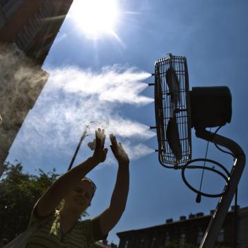 A klímaberendezések miatt csúcsot döntött az áramfogyasztás csütörtökön
